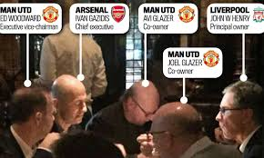 The night Arsenal, Liverpool and Man United chiefs met NYC   Daily Mail  Online