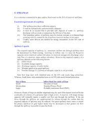 Shaft Spillway Design 289201899 Chapter 5 Pdf