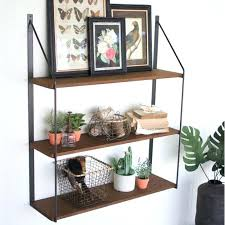 wooden wall shelves metal and wood wall shelves incredible idea for over toilet three tiered shelf wooden wall shelves