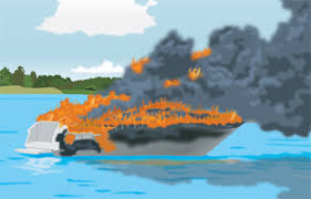 If a Fire Erupts on Your Boat