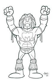 Wwe Coloring Pages To Print Coloring Pages Printable Printable