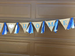 Welcome Home Baby Boy Banner Welcome Home Banner Welcome Home Decor Welcome Baby Banner