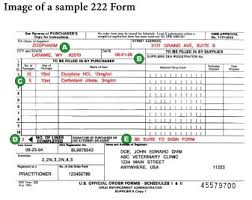 form 222 dea part i compounding and ordering cii drugs new regulations