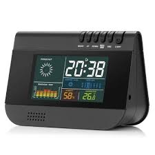 gocomma go a1 wireless temp humidity weather forecast alarm clock