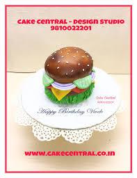 Burger Cake Design Burger Cake Cake For A Foodie Burger Lover By Cake