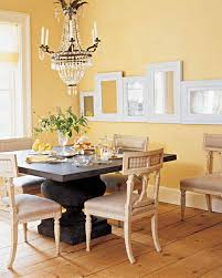 mirror paint for wallsYellow Rooms  Martha Stewart