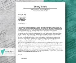 Marketing Cover Letter Sample Cover Letter Example For Marketing Tips For Customizing It