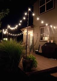outdoor hanging lights string. hanging lighting outdoor light strings with bright july diy string lights idea for poles to