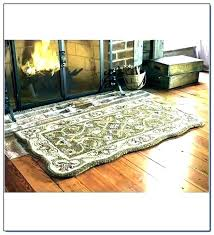 fire ant hearth rugs for fireplace flame tant rug place resistant wool uk