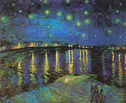 van gogh paintings digital art vincent van gogh starry night over the rhone