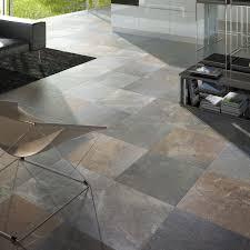 Slate Tiles For Kitchen Floor Outdoor Tile Living Room Kitchen Floor Multicolor Slate