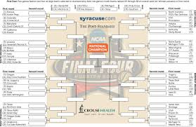Ncaa Tournament Bracket Scores 2016 Ncaa Tournament Bracket Print Download Updated March Madness