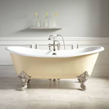 hd bathroom picture 72 lena cast iron clawfoot tub monarch imperial feet light yellow bathtub