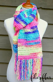 Easy Crochet Scarf Patterns For Beginners Free Magnificent Fiber Flux Free Crochet PatternAbsolute Beginner Crochet Scarf
