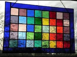 stained glass panels simple stained glass panel patterns
