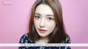 makeup tutorial korean style natural look 2017 eng 퍼플 포인트 메이크업 purple point you