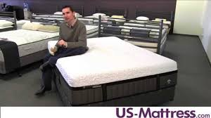 stearns and foster king mattress. Stearns \u0026 Foster Lux Estate Hybrid Point Robinson Luxury Ultra Plush Mattress - YouTube And King