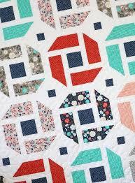 Cheerful - a fresh, modern quilt pattern that is fat quarter ... & Cheerful - a fresh, modern quilt pattern that is fat quarter friendly Adamdwight.com