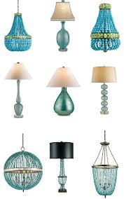 c09770 a beautiful turquoise empire shaped chandelier made from turquoise polished glass and trimmed with jade glass size 22 across x 33 high