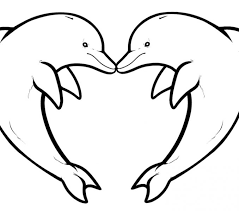 Dolphin Pdf Format Coloring Pages Print Coloring