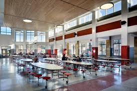 high school cafeteria. Photo Of Tappé Architects - Boston, MA, United States. Southbridge Middle/ High School Cafeteria T