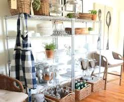 open pantry shelves in kitchen wire rack shelving ideas brilliant best wire storage ideas on cord