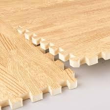 pidegree mats wood grain interlocking foam anti fatigue flooring 2 x2 x3 8