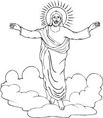 Small Picture Jesus Resurrection Coloring Pages Lds