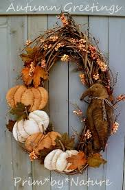 Autumn Fall Pumpkin Wreath