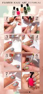Flower Nail Art Tutorial | YouBeauty