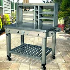 outdoor bar carts serving cart diy rolling wi