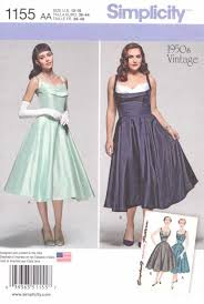 Fitted Bodice Dress Simplicity Sewing Pattern Women S Plus Size W Vintage