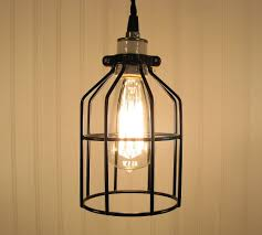 edison pendant lighting. Perfect Pendant Industrial Cage Pendant Light With Edison Bulb Rustic Modern Black  Lamp Nz Intended Lighting U