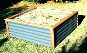 steel raised garden bed galvanized raised bed garden steel corrugated iron beds galvanised b colorbond raised