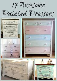 Turquoise painted furniture ideas Teal Love These Ideas For Renovating An Old Dresser Pinterest 17 Awesome Painted Dressers Home Diy Projects Dresser