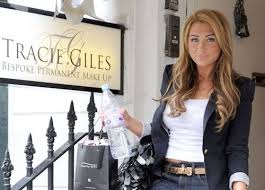 lauren goodger at tracie giles