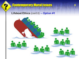 i i world hunger poverty hardin s central argument garrett  6 6 lifeboat ethics cont d option 1