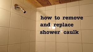 how to remove old shower silicone caulk and apply new and look pro you