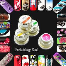diy acrylic nails kit 2 gel paint for nails soak off gel painting nail art color diy acrylic nails