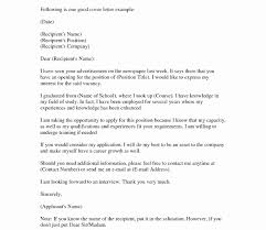 Cover Letter For Resume Formatat Is Fresh Design Write How New