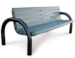 China Plastic Public Seating Used Park Benches Chairs Park Modern Park Benches