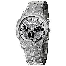 wittnauer men s crystal steel chronograph watch shipping wittnauer men s crystal steel chronograph watch
