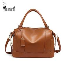 <b>FUNMARDI</b> Fashion Luxury PU Leather Bag <b>Large</b> Capacity ...