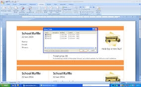 templates for raffle tickets in microsoft word print numbered tickets in word raffle ticket creator