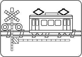 電車踏切 ぬりえ Fumikiri Channel オフィシャルサイト