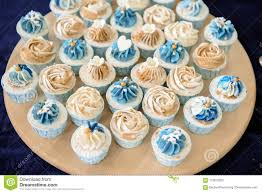Mini Cupcake In Wedding Party Stock Photo Image Of Baking