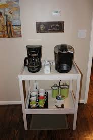 coffee station furniture. brilliant station ikea changing table repurpose to coffee station intended station furniture i
