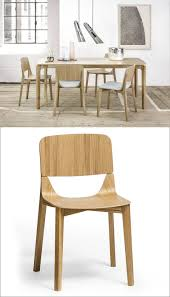 Unique wood chair Luxury Wood Two Pieces Of Solid Bent Wood Give This Chair Unique Look And Strong Stable Feel Contemporist Furniture Ideas 14 Modern Wood Chairs For Your Dining Room