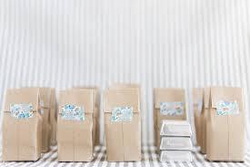 DIY Mini Brown Paper Bag Favors - https://ruffledblog.com/diy