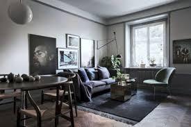 stylish dark wood floor ideas for your living room 56